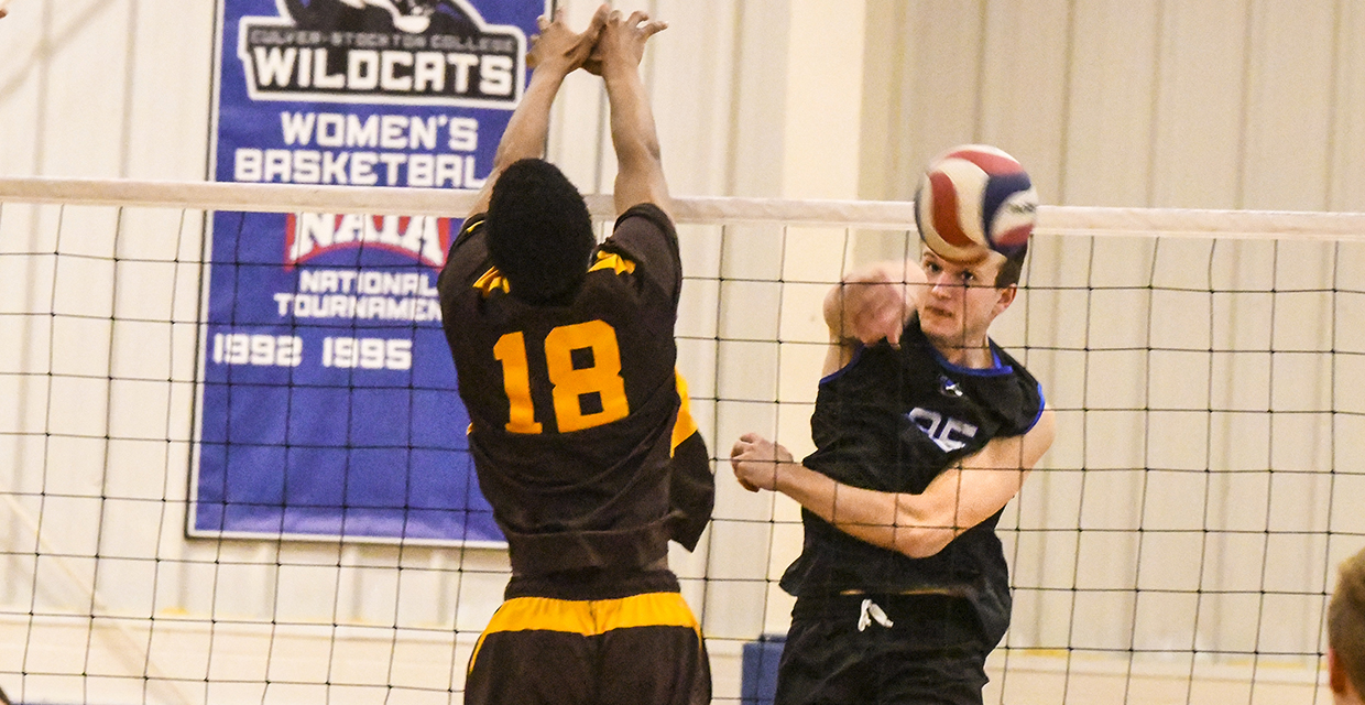 Jordan Stellflue had seven kills and eight digs in Tuesday's match