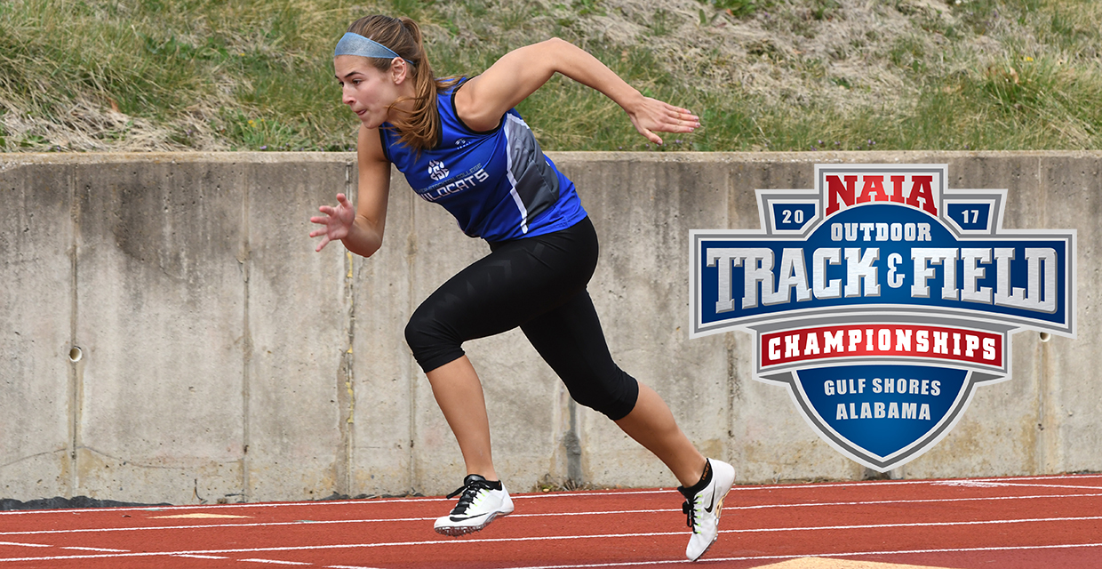 Paige Bray will compete in NAIA Outdoor Track and Field Championships this weekend