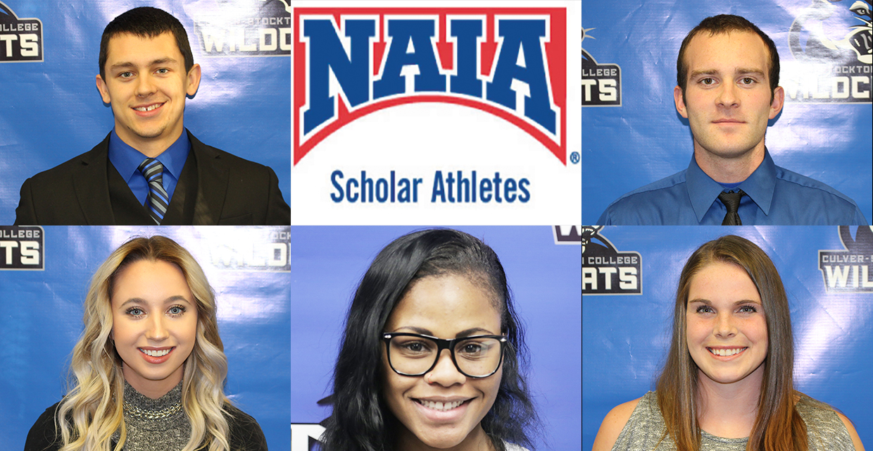 Five Track and Field Athletes were named 2017 NAIA Scholar-Athletes