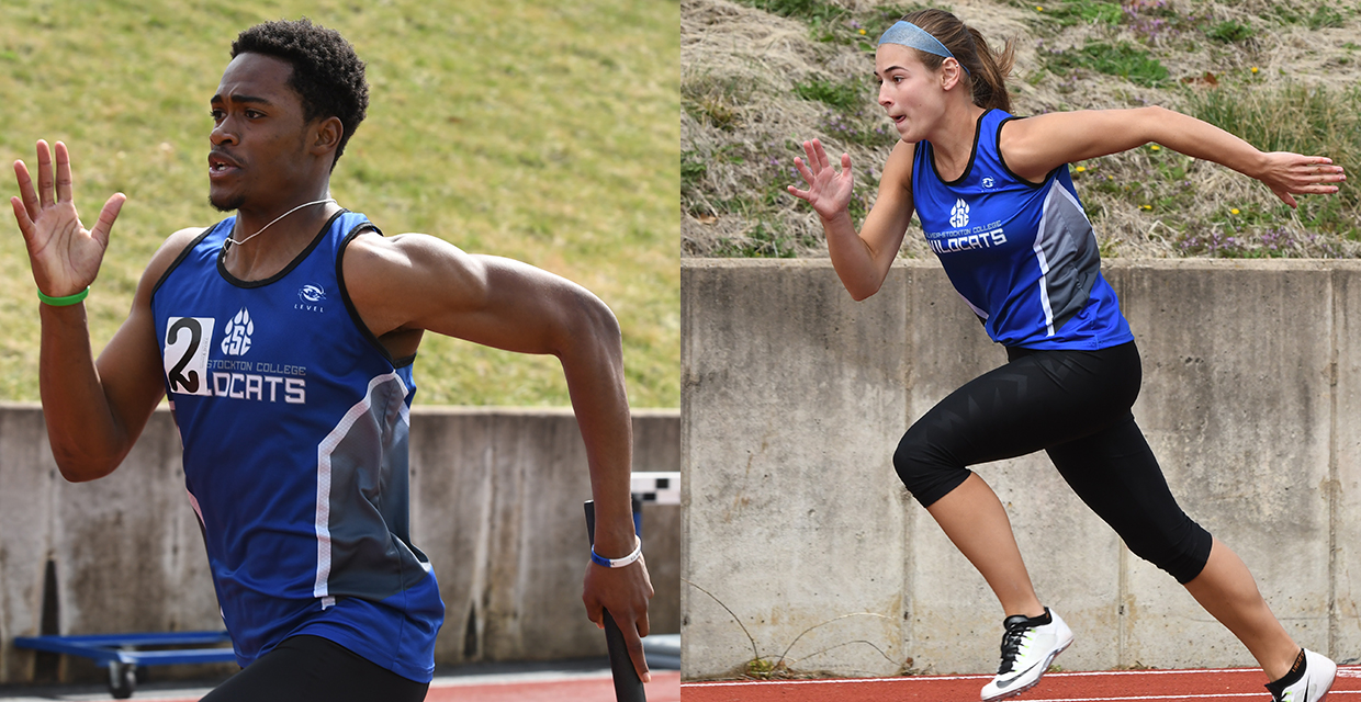 Tyrin Holder (left) and Paige Bray each placed in two events at the Heart Championships