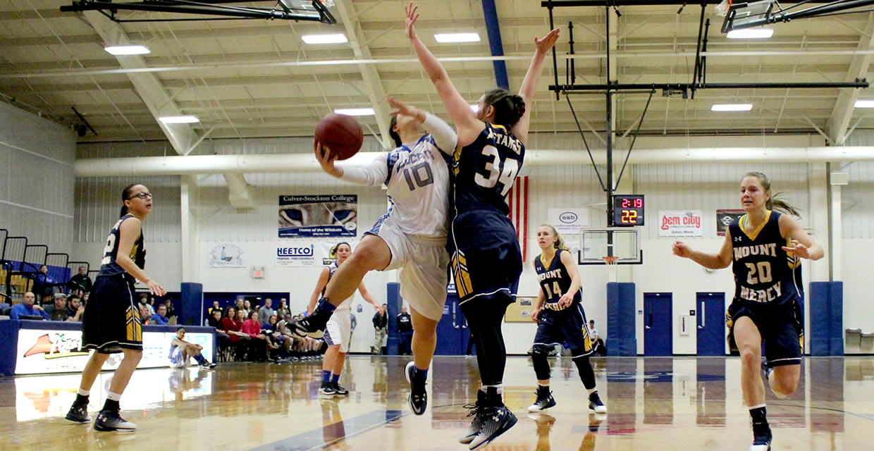 Hannah Thompson netted 16 points in Saturday;s victory