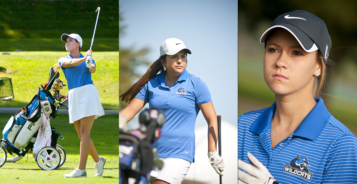 Lucy Clark (left), Haley Barraza and Tara Bradley participated in the Heart Championships May 8-9